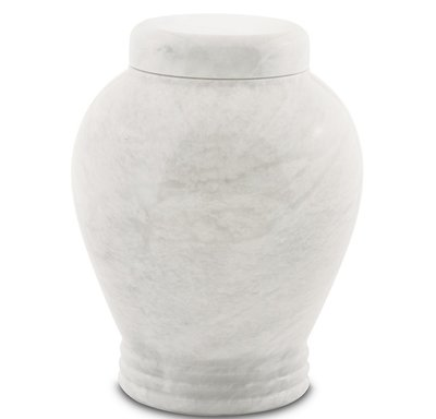 Antique White Urn
